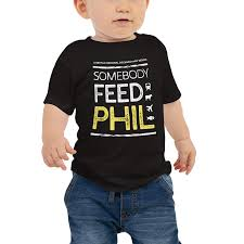 Somebody Feed Phil <b>Baby</b> Jersey <b>Short Sleeve</b> Tee - Phil Rosenthal ...