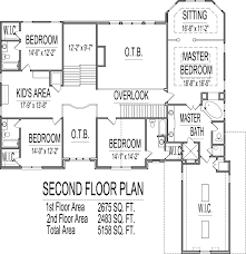 sq ft House Floor Plans Bedroom story Designs Blueprintsrear stair Bedroom Story House Plans Sq Ft Atlanta Augusta Macon Georgia Columbus