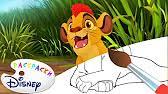 <b>Король лев</b> - <b>Раскраски Disney</b> #РИСУЕМ #ДОМАВМЕСТЕ