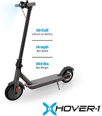 Hover-1 Journey Electric Folding Scooter, Black ... - Amazon.com