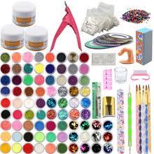 Акриловый маникюрный <b>набор для дизайна</b> ногтей 78 цветов ...