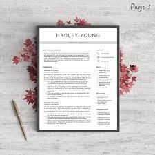 modern resumes resume tips resume templates resume writing advice modern resume template the hadley