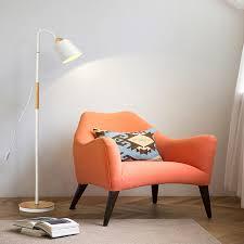 <b>Modern iron</b> painted wood American Style <b>Floor</b> Lamps Adjustable ...