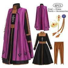 Girls <b>Anna Elsa</b> Dress <b>Elegant Princess</b> Dress Kids Dresses For ...