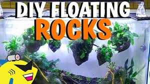 HOW TO: DIY AVATAR <b>AQUARIUM</b> FLOATING <b>ROCKS</b>! - YouTube