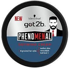 <b>Schwarzkopf Got2b Phenomenal Defining</b> Cream, 100ml: Amazon ...