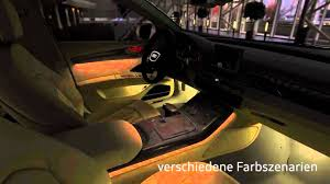 audi a8 2011 ambient light youtube ambient interior lighting