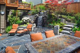 sandset montana flagstone patio flagstone patio singles of several colors combined to create this back