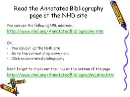 Reference Format Url sawyoo com Annotated Bibliography Sample
