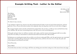formal letter to an editor sendletters info formal letter writing samples to the editor 4