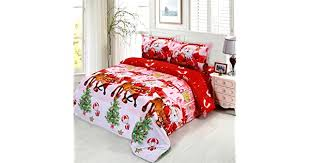 JARSON <b>4Pcs Merry Christmas</b> Bedding Set King Size,3D <b>Santa</b> ...
