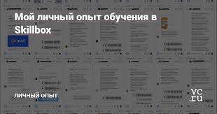 Мой личный опыт обучения в Skillbox — Личный опыт на vc.ru