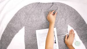 How to Block a <b>Sweater</b> That Fits - YouTube