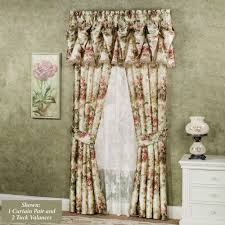 garden window enchanting white curtains design