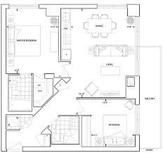 floor plan corner suite   Erskine Tridel condo Toronto condo ca    floor plan corner suite   Erskine Tridel condo