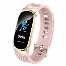 <b>New</b> Sports Waterproof Smart Watch Women <b>Smart Bracelet</b> Band ...