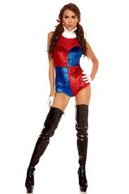 quintessential jester supervillian costume by forplay® foxy quintessential jester supervillian costume