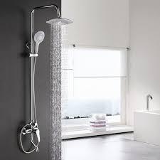 thermostatic brand bathroom: dofaso brand shower faucet bathroom shower set mixer brass valve adjust height hand shower thermostatic new