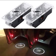 2 PCS LED Car Door Welcome Logo Car Brand 3D ... - SUNSKY