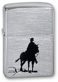 Купить <b>Зажигалка ZIPPO</b> Bronco <b>Cowboy</b> Brushed Chrome 200 ...