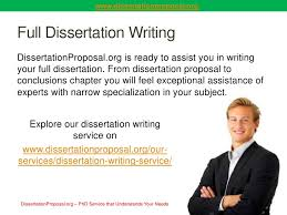 Dissertation Proposal Service New Media