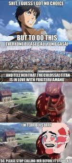 Attack on Titan on Pinterest   Shingeki No Kyojin, Levis and Armin via Relatably.com