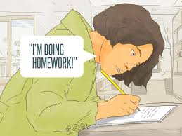 ways to get out of doing homework wikihow get boring homework done