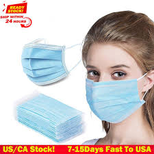 <b>DHL TNT</b> 50pcs <b>Face</b> Disposable mouth mask 3 Layer Dust ...