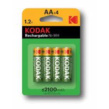<b>Kodak HR6</b>-<b>4BL 2100mAh</b> Pre-Charged [KAAHRP-4] (80/640/15360)