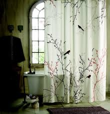 thistle fabric shower curtains