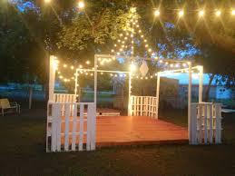 1000 ideas about outdoor dance floors on pinterest dance floors tan groomsmen and brown bridesmaid dresses backyard wedding lighting