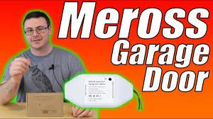 <b>Meross Smart WiFi</b> Garage Door Opener Unbox and Full Setup ...