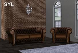 syl chesterfield sofa set chesterfield sofa leather 3