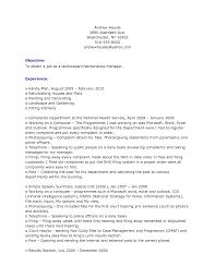 resume for landscaping tk landscaping manager sample resume resume for landscaping 25 04 2017
