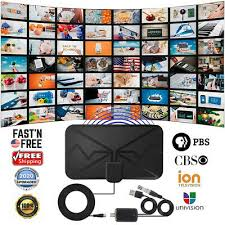 <b>3600 Miles</b> TV Antenna, Upgraded Newest HDTV Indoor Digital ...