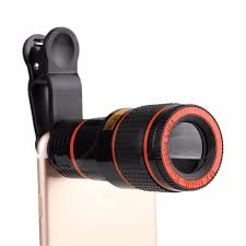<b>12X Zoom</b> Optical Mobile Phone <b>Telephoto</b> Camera <b>Lens</b> with <b>Clip</b> ...