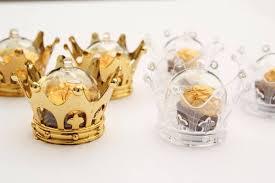 <b>Acrylic</b> Crown Candy & Treats Favor Containers (<b>12 pcs</b> ...