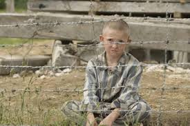 review the boy in striped pyjamas john boyne girl her surely the barbed wire would be a give away