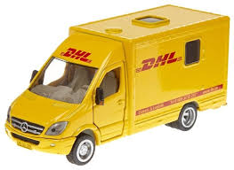 Фургон <b>Siku Почтовая машина</b> Mercedes Sprinter DHL (1936) 1:50 ...