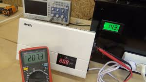 Тест <b>Sven AVR</b> SLIM-500 LCD. Релейный <b>стабилизатор</b> ...
