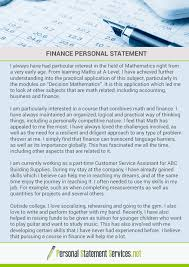 PSexamples  Personal Statement Examples    DeviantArt DeviantArt Finance personal statement by PSexamples
