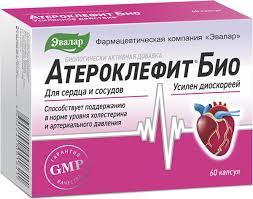 <b>Атероклефит БИО капс</b>.250мг №<b>60</b> (БАД) — купить в интернет ...
