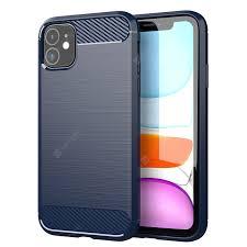 <b>LEEHUR Carbon Fiber Phone</b> Case Cover Shockproof Protector ...