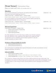 finance cv template graduate jobs internships careers advice finance cv template