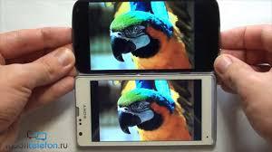 Обзор-сравнение Sony Xperia SP и LG Nexus 4 (comparison and ...