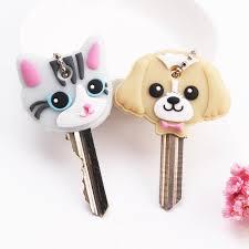 <b>Cartoon Anime</b> Keychain <b>Cute</b> Silicone Mickey Stitch <b>Bear</b> Key ...
