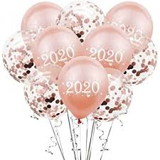 Valentineflos Classic <b>10Pcs</b>/<b>Lot 12Inch</b> 2020 Number <b>Confetti</b> ...