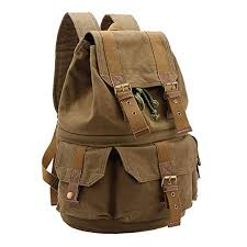 Yimidear Canvas DSLR SLR <b>Camera Backpack with Shockproof</b>…