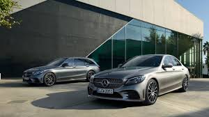 New <b>Mercedes</b>-<b>Benz C</b>-Class Saloon and the new Estate.