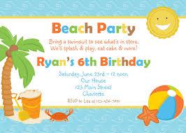 beach birthday invitations info beach birthday invitations haskovo me